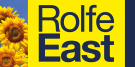 Rolfe East, Northfield, London branch logo