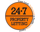 24.7 Property Letting, Livingston branch logo