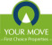 YOUR MOVE First Choice Properties, Renfrew logo