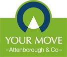 YOUR MOVE Attenborough & Co Lettings, Belper branch logo