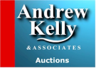 Andrew Kelly and Associates Auctions, Rochdale branch logo