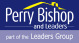 Perry Bishop & Leaders, Queens Circus logo
