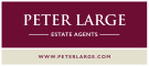 Peter Large Estate Agents, Rhyl branch logo