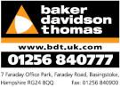 Baker Davidson Thomas, Basingstoke branch logo