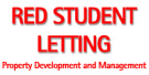 Red Student Lettings, Hucknall branch logo