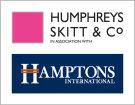Humphreys Skitt and Co in association with Hamptons International, Blackheath branch logo