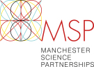 Manchester Science Partnerships, Manchester logo