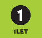 1LET, Edinburgh - Lettings branch logo