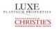 Luxe Platinum Properties, Lake Oswego logo