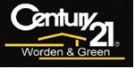 Century 21 Worden & Green Realty Group, East Brunswick Logo