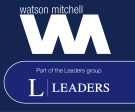 Watson Mitchell part of the Leaders group, Stamford logo