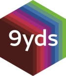 9 yds,   branch logo