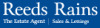 Reeds Rains Lettings, Stone logo
