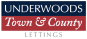 Underwoods Town and County Lettings, Wellingborough Lettings logo