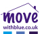 Move with Blue, Grantham logo