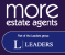 More Estate Agents, Part of the Leaders group, Braintree logo