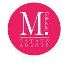 M Coleman Estate Agents, Downend logo