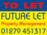 Future Let, Old Harlow logo