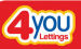 4you Lettings, Manchester logo