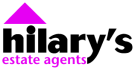 Hilary's Estate Agents, Blackburn logo