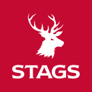 Stags, Okehampton logo