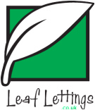 Leaf Lettings, Catford logo