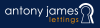 Antony James Lettings Ltd , Bolton  logo