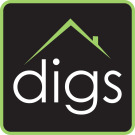 Digs Property Management, Oxford logo