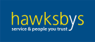 Hawksbys, Wellingborough logo