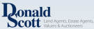 Donald Scott Land And Estate Agents, Wigton logo