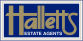 Halletts Estate Agents, Newbury logo