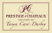 Prestige & Chateaux. Tanya Cave-Darbey. Groupe Eric Mey, 30700 Uzes logo