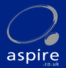 aspire, Fulham Central branch logo