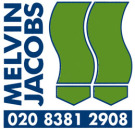 Melvin Jacobs, Edgware logo