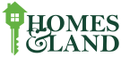 Homes & Land, Norwich logo