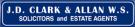 JD Clark & Allan, Duns logo