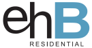 ehB Residential, New Homes branch logo