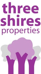 Three Shires Estate Agents, Buxton logo