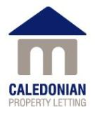Caledonian Property Letting, Stirling branch logo