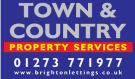 Town & Country Property Services, Hove logo
