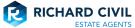 Richard Civil Estate Agents, Desborough logo