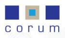 Corum, Glasgow branch logo