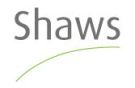 Shaws Estate Agents, Sales details
