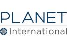 Planet International, London logo