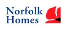 Butterfly Gardens development by Norfolk Homes Ltd logo