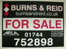 Burns & Reid Ltd, St Helens branch logo