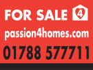 Passion4Homes Ltd, Rugby logo