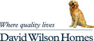 David Wilson at Burton Woods development by David Wilson Homes North East logo