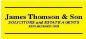 James Thomson & Son, Kirkcaldy logo