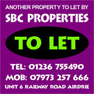 SBC Properties, Airdrie branch logo